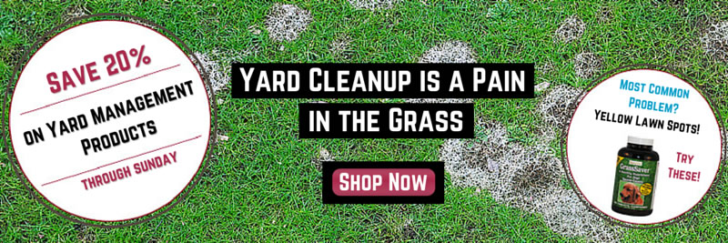 Canine Company Pet Shop: Save 20% On Yard Management Products Through Sunday
