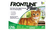 Cats-Frontline Plus Flea and Tick Treatment