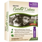 Sentry Natural Defense 3-Month Flea/Tick Squeeze-On Treatment for Cats