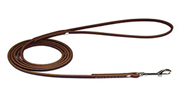 6' Leather Latigo Dog Leash - Dog Training