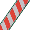 Up Country Peppermint Stick Stripe Collar