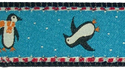 Up Country Playful Penguins Collar