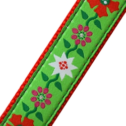 Up Country Poinsettia MicroLite® Collar