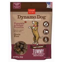 Dynamo Dog Functional Soft Chews Tummy: Pumpkin & Ginger 5oz