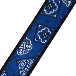 Up Country Blue Bandana Collar