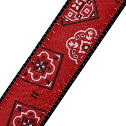 Up Country Red Bandana MicroLite® Collar | Canine Company