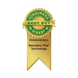 Boundary Plus® Technology Earns a Consumers Digest 'Best Buy'