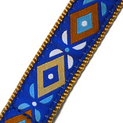 Up Country Aztec Blue MicroLite® Collar