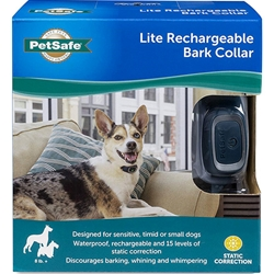 PetSafe Deluxe Little Dog Bark Control Collar PBC00-10782- Stop Your Small Dog From Barking
