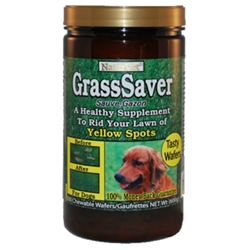 NatureVet GrassSaver Wafers | GrassSaver Chewable Dog Treats