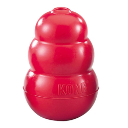 Kong 174 Classic Dog Toy Treat Cone Kong 174 Hard Rubber Chew Toys