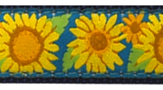 Up Country Bright Sunflower Collar