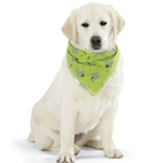 Insect Shield Dogs & Bones Bandana- Green