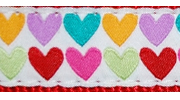 Up Country Pop Hearts Collar