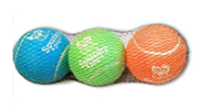 Glow-in-the-Dark Tennis Balls 3-pack