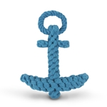 Anchor-Knotted Cotton Rope Toy