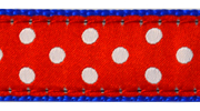 Up Country Swiss Dot Collar