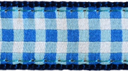 Up Country Blue Gingham MicroLite® Collar