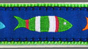 Up Country Funky Fish Collar