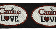 Canine LOVE MicroLite® Collar - BLACK