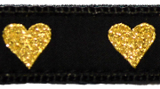 Up Country Gold Heart Collar