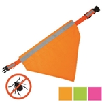 Tick Repelling Safety Bandana - Green