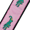 Pink Alligator Dog Collar by Unnceccesary Essentials for Invisible Fence Brand systems