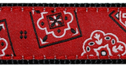 Up Country Red Bandana Collar