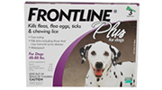 FRONTLINE Plus for Dogs | Canine Flea and Tick Treatment