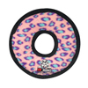 Tuffy Pet Toys Jr Ring – Pink Leopard