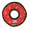Tuffy Pet Toys Ultimate Ring – Red Paws