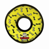 Tuffy Pet Toys Ultimate Ring – Yellow Bones